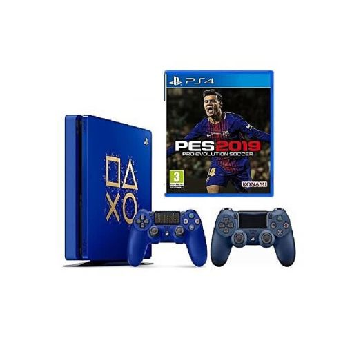 Onitshamarket - Buy Sony PlayStation 4 Slim 500GB Console Limited Edition + Pro Evolution Soccer 2019 Game- PES 19