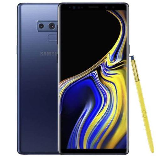 "Onitshamarket - Buy Samsung Galaxy Note 9 - 6.4"" (512GB + 8GB Ram, Dual Rear 12MP+12MP, 8MP Selfie) 8.1 Oreo, Dual Sim 4G LTE - Ocean Blue Smartphones"