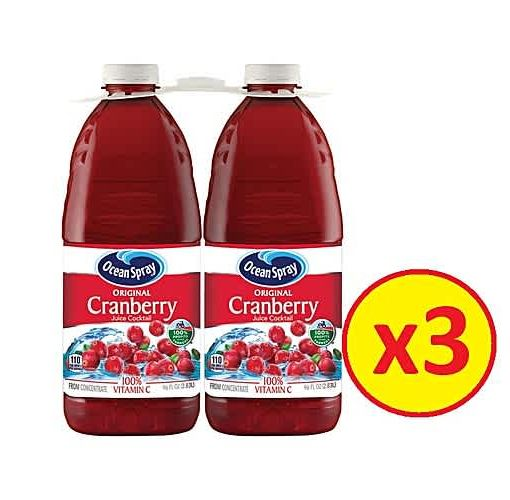 Onitshamarket - Buy Ocean Spray CranBerry Cocktail 2.83L Pack Of 6