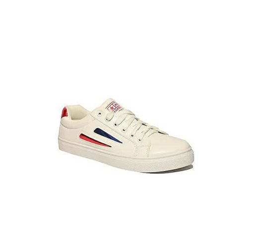 Onitshamarket - Buy Fashion Smart Trendy Unisex Sneakers - White Intouch Of Red Shoe Accessories
