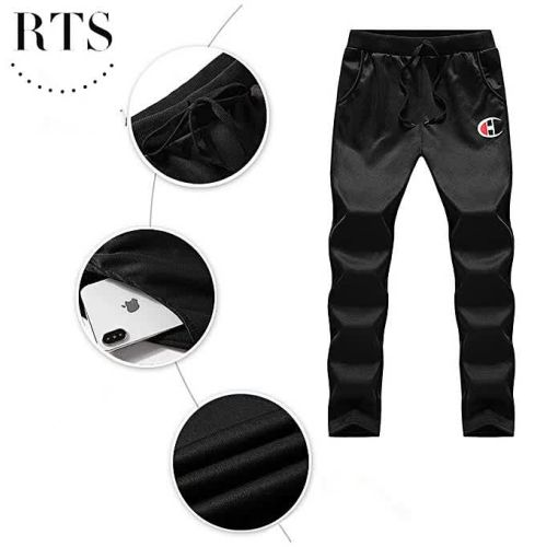 Onitshamarket - Buy RTS 3 Pieces Sets (Jacket+Pant+hoodies) Tracksuit Men Sporting Clothing