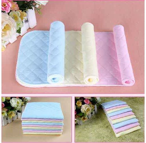 Onitshamarket - Buy 3 Layer Absorbent Cotton Mother Supplies Diaper Watchcloths and Towels