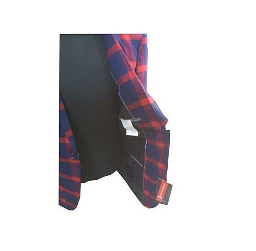 Onitshamarket - Buy Fashion Flamboyant Red Checkered Men's Blazer