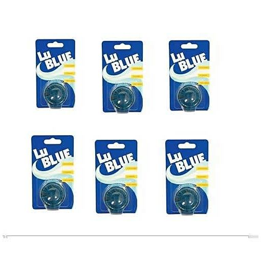 Onitshamarket - Buy Blue LU BLUE TOILET BLOCKS - 6 COUNT
