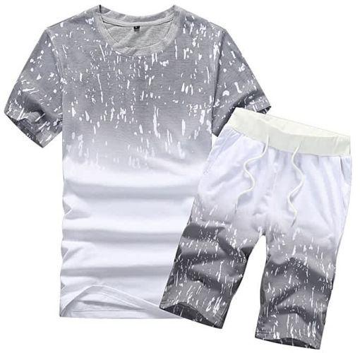 Onitshamarket - Buy Fashion 2 Piece Set Men's Round Neck Short Sleeve Shorts Set