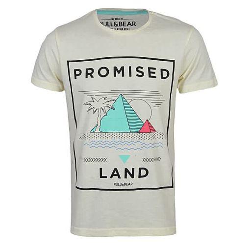 Onitshamarket - Buy Pull & bear Yellow Promised T Shirt Clothing