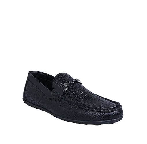 Onitshamarket - Buy Light Duty Leather Loafers - Black