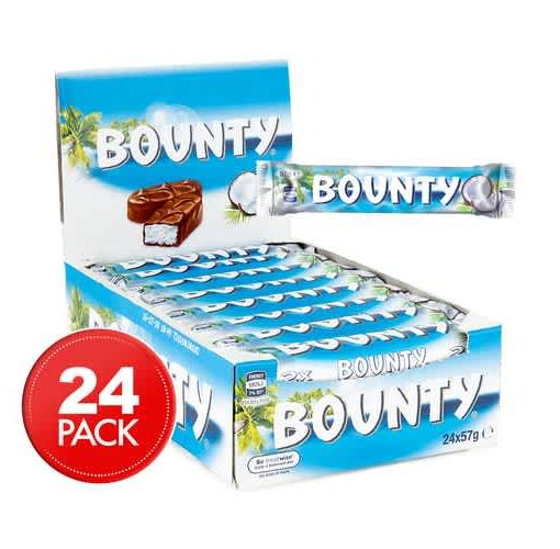 Onitshamarket - Buy Bounty Milk Chocolate Covered With Coconut X 24