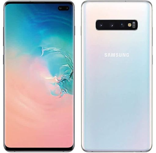 Onitshamarket - Buy Samsung Galaxy S10 6.1-Inch AMOLED (8GB, 128GB ROM) Android 9.0 Pie, 12MP + 12MP + 16MP Dual SIM 4G Fingerprint Smartphone - Prism White (+ Free Samsung Earbuds) Smartphones