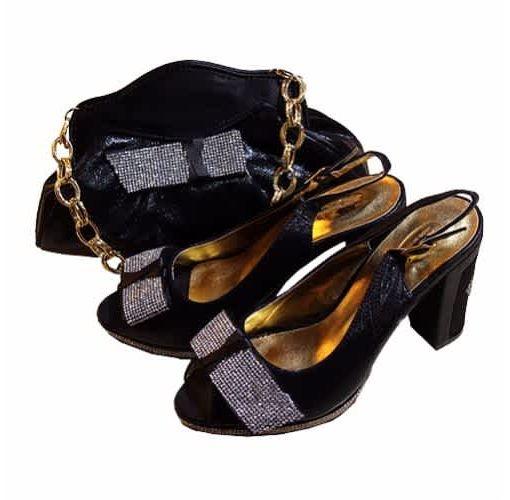 Onitshamarket - Buy Ladies Shoe & Bag - Black Shoes and Bags