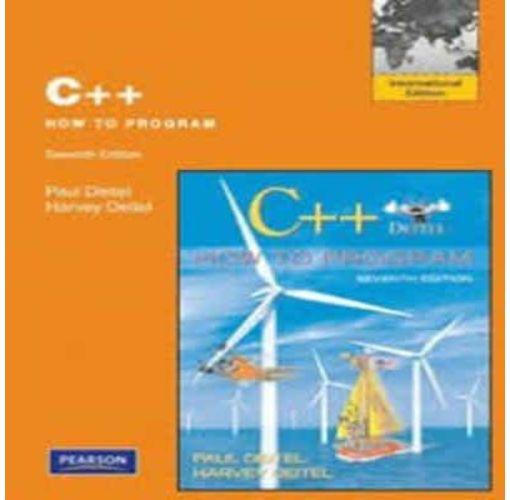 Onitshamarket - Buy C++ How To Program(Seventh Edition) By; Paul Deitel and Harvey Deitel