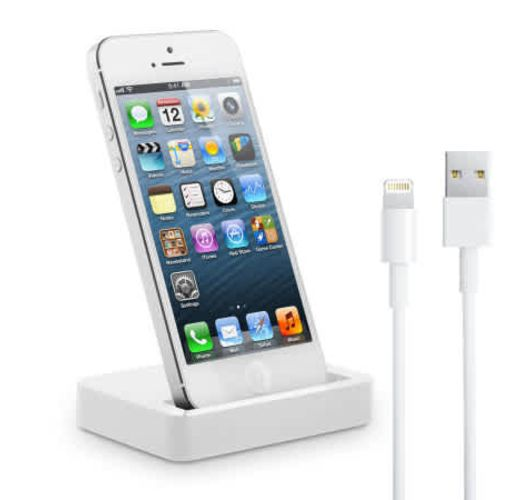 Onitshamarket - Buy iPhone 5S / 5C / 5 Charge & Sync Dock with Lightning Cable - White
