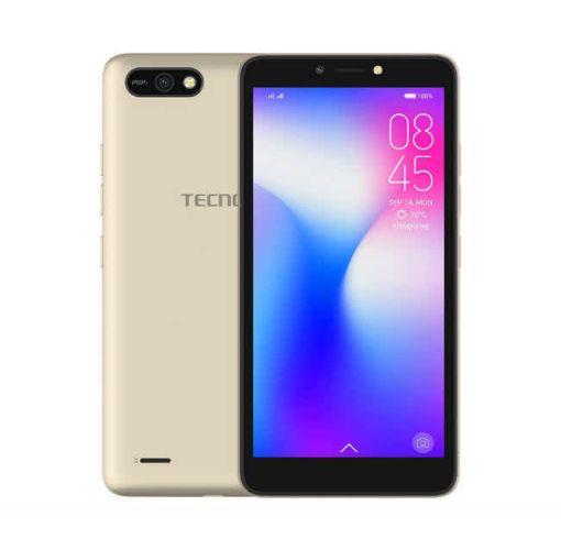 """Onitshamarket - Buy Tecno Pop2 - B1 -Android 8.1, Dual Sim - 8GB RAM - 1GB RAM - 5.5"""" - Champagne Gold - 4000mAh"""