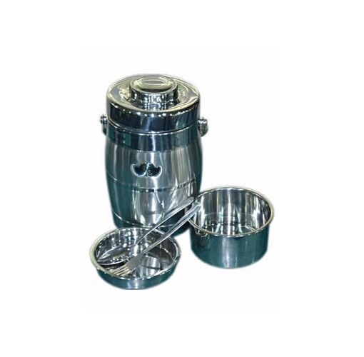 Onitshamarket - Buy Universal Stainless Steel Thermos Food Flask - 2000ml +FREE Spoon/Fork