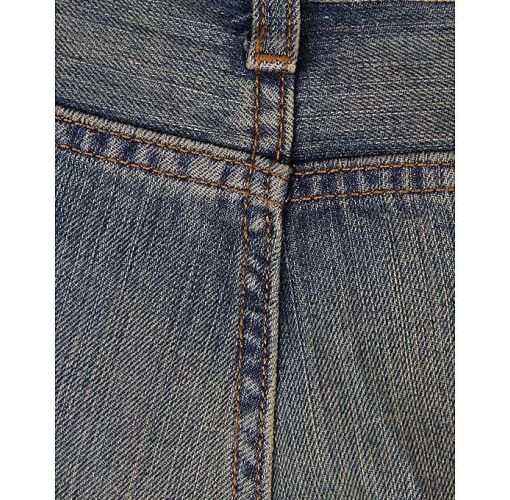 Onitshamarket - Buy Men's Faded Detail Straight Jeans Non Pin - Blue