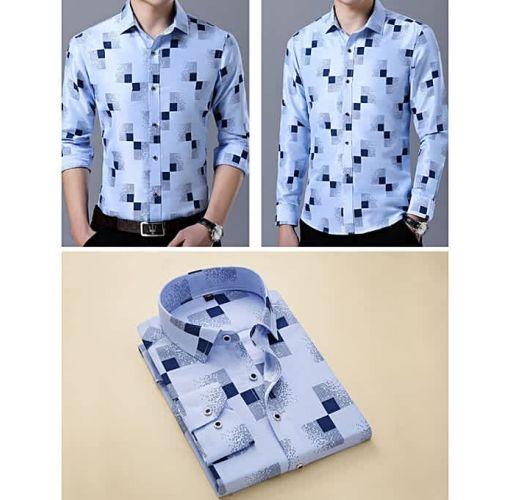 Onitshamarket - Buy Men Casual Shirts Men Oxford Dress Shirt Youth Style-H880