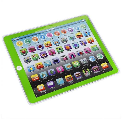 Onitshamarket - Buy Kids Tablet Pad Electronic Preschool English Learning Numbers Letters Teach Toy (Pink) Learning & Education