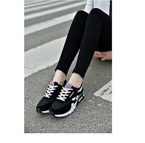 Onitshamarket - Buy Fashion Woman Fashion Trendy Women Ladies Fashion Sneakers-black