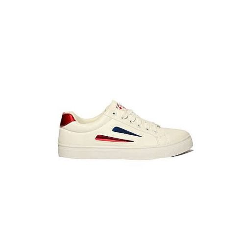 Onitshamarket - Buy Fashion Smart Trendy Unisex Sneakers - White Intouch Of Red