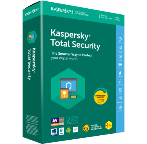 Onitshamarket - Buy Kaspersky Total Security 3+1 User (LATEST)