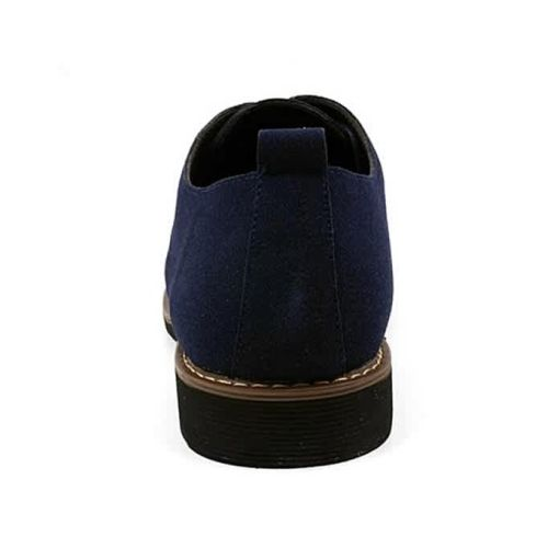 Onitshamarket - Buy Unique Cow Suede Leather Luxury Brand Moccasins For Men- Blue Casual Shoes