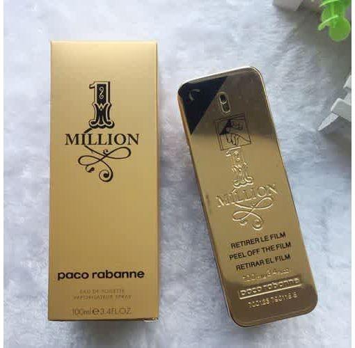 Onitshamarket - Buy 100ml Distinguished French Men's Cologne Men's Fragrance Cologne Gold Million Perfume