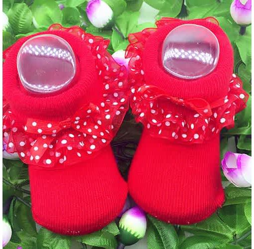 Onitshamarket - Buy Baby Girls Tutu Socks Bow Lace Newborn Frilly Sock Cotton Short Socks Clothing