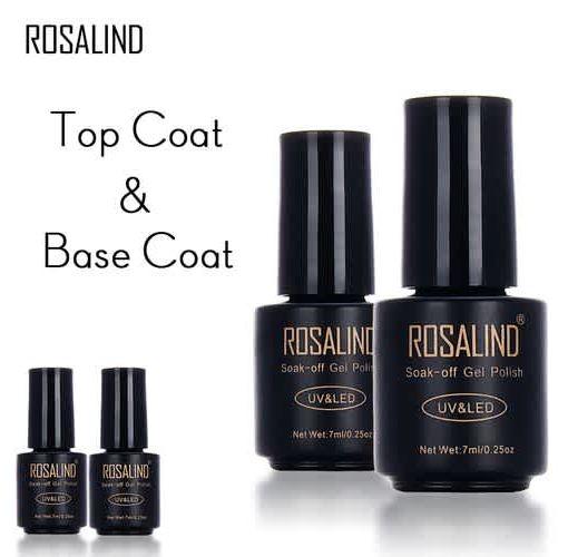 Onitshamarket - Buy ROSALIND Matte Top Coat 7ml UV LED Nail Polish Semi Vernis Permanent Gel Varnish Soak Off Nail Gel Polish Nail Art Lacquer Makeup