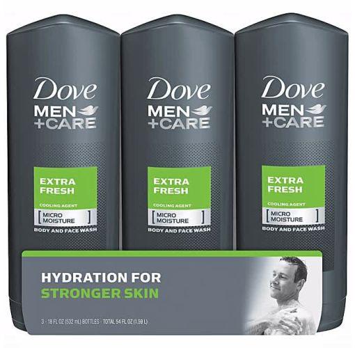 Onitshamarket - Buy Dove Men +Care Extra Fresh Micro Moisture Pack Of 3