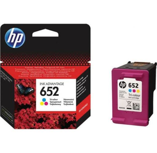 Onitshamarket - Buy HP 652 Tri-Color Original Ink Advantage Cartridge (F6V24AE) Printer Ink & Toner