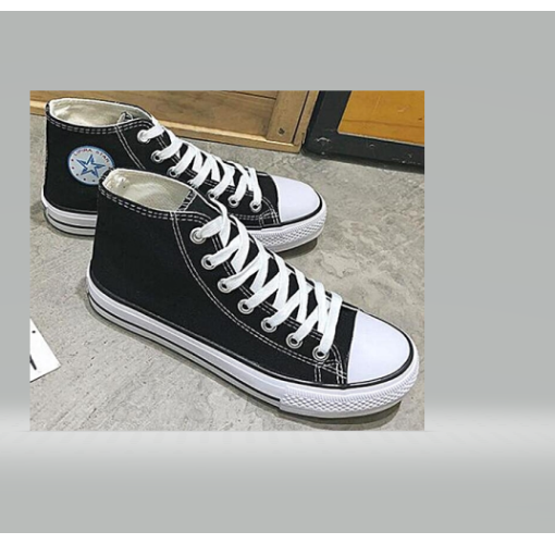 Onitshamarket - Buy All Star Men's Sneakers - Black And White