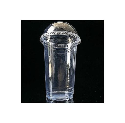 Onitshamarket - Buy 50 Disposble Smoothie Cup,Small Opening At The Lid For Straw,50 Free Straw