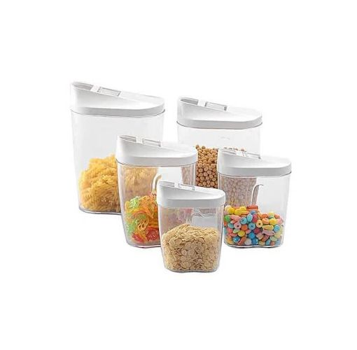 Onitshamarket - Buy 10-Piece Container Set With Easy Pour Lids Disposables
