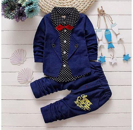 Onitshamarket - Buy Aile Rabbit Gentleman Baby Boys Clothing Set