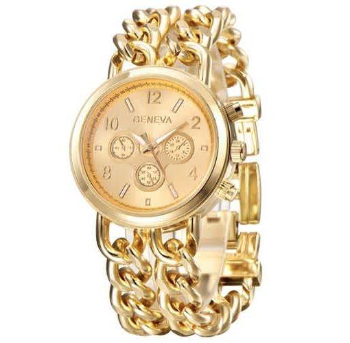 Onitshamarket - Buy Geneva Female Gold Bracelet Female Wristwatch