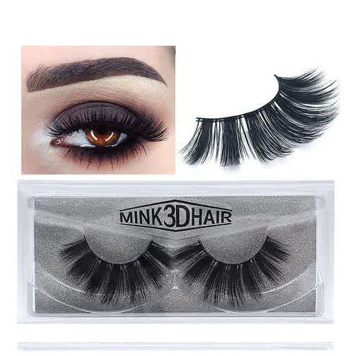 Onitshamarket - Buy Eyelashes 3D mink eyelashes long lasting mink lashes natural dramatic volume eyelashes extension Makeup