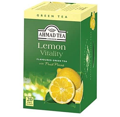 Onitshamarket - Buy Ahmad Tea Lemon Vitality Green Tea