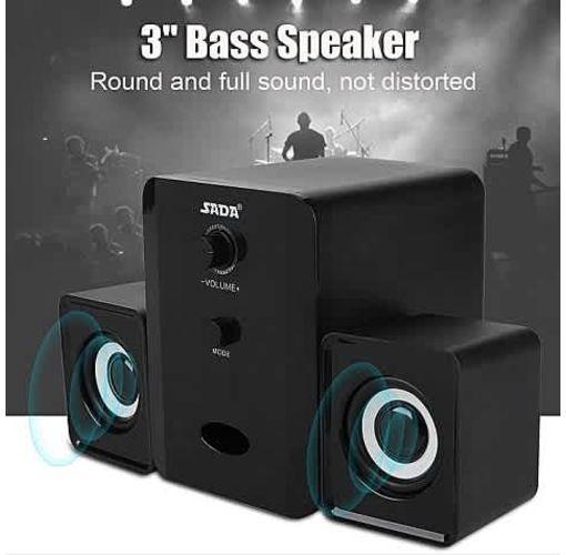 Onitshamarket - Buy Universal SADA Bluetooth Speaker USB Powered 5V 2.1 Stereo Bass Speaker For IPad/PSP/Tablet/Phone/Laptop