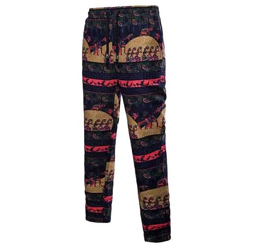 Onitshamarket - Buy Fashion Men Trousers Harem Sweatpants Slacks Casual Jogger Sportwear Baggy Comfy Pants Clothing
