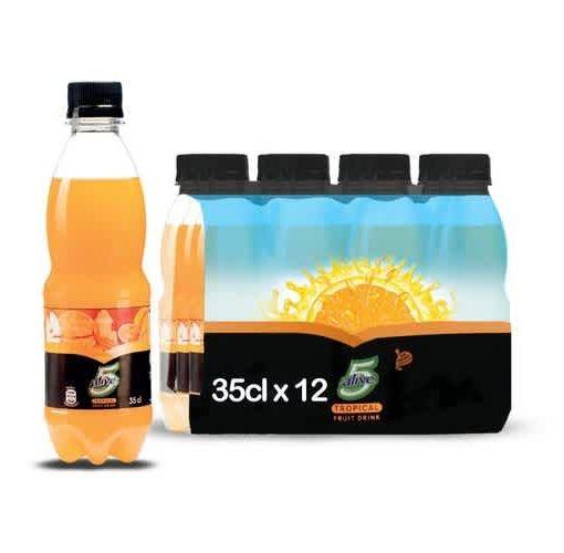 Onitshamarket - Buy 5Alive Coca-cola Pulpy Orange Fruit Drink 6 X 35cl