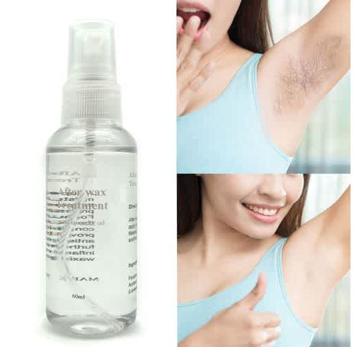 Onitshamarket - Buy Smooth Body Hair Removal Spray PRE Wax Treatment Spray Liquid Hair Removal Remover Waxing Sprayer 60ml Shave & Hair Removal