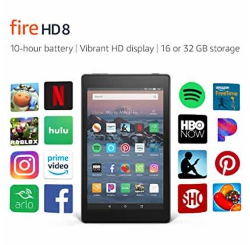 "Onitshamarket - Buy Amazon Hd 8 Tablet | 8"" Hd Display, 16 Gb, Black Android Tablets"