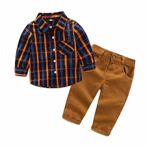 Onitshamarket - Buy Fashion 2 Pieces Formal Baby Boy Cloth MODEL 2