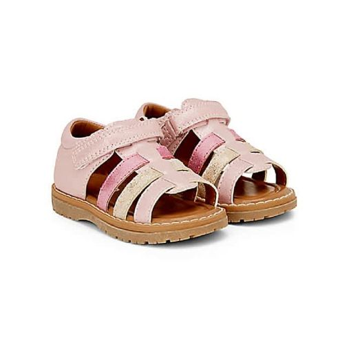 Onitshamarket - Buy Pink Glitter Open Toe Sandals