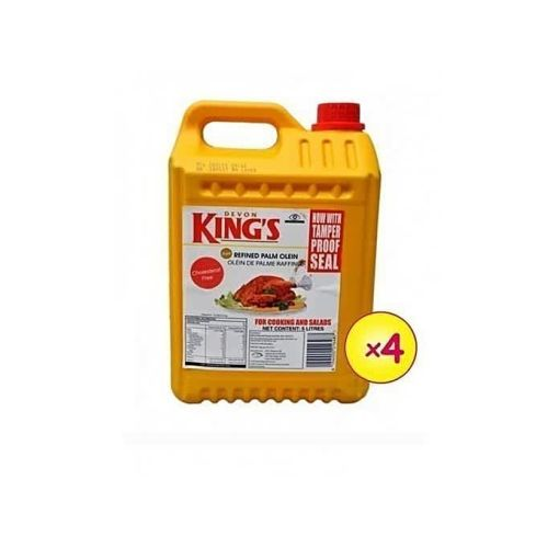 Onitshamarket - Buy Devon King's 5 Litres Pure Vegetable Cooking Oil ( 4 In A Carton ) Cooking Oil