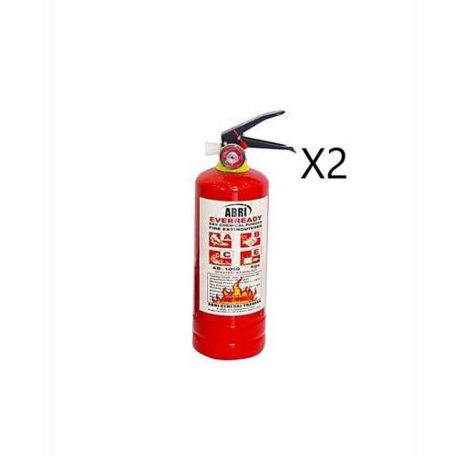 Onitshamarket - Buy 1Kg DCP Fire Extinguisher (Car Fire Extinguisher) X2