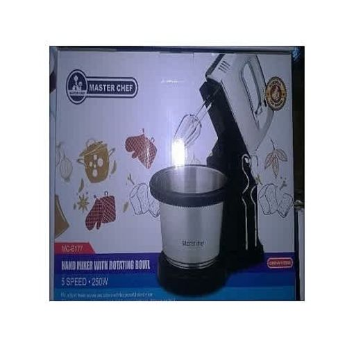 Onitshamarket - Buy Master Chef Cake Mixer /Hand Mixer With Rotating Bowl Cookware