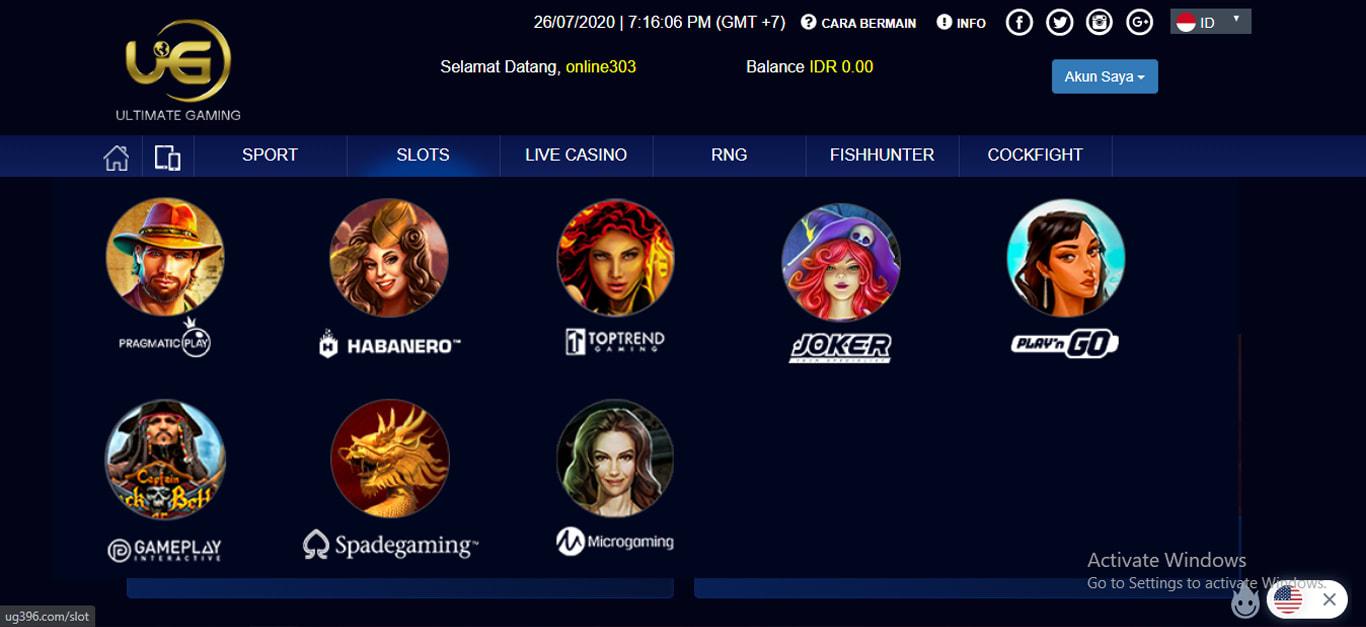 Situs Judi Ultimate Gaming - Online303