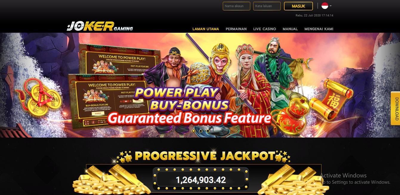 Situs Joker Gaming Online