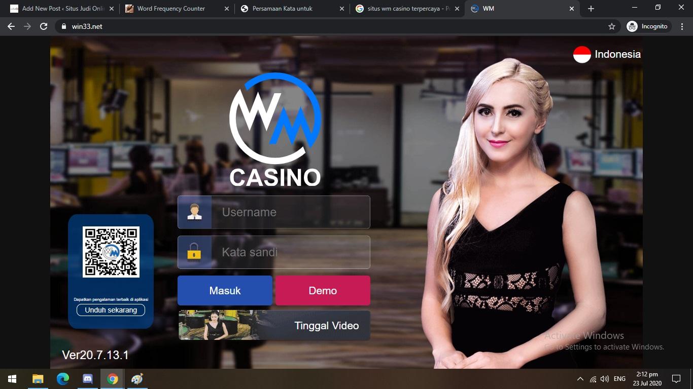 Situs WM Casino Online - Online303